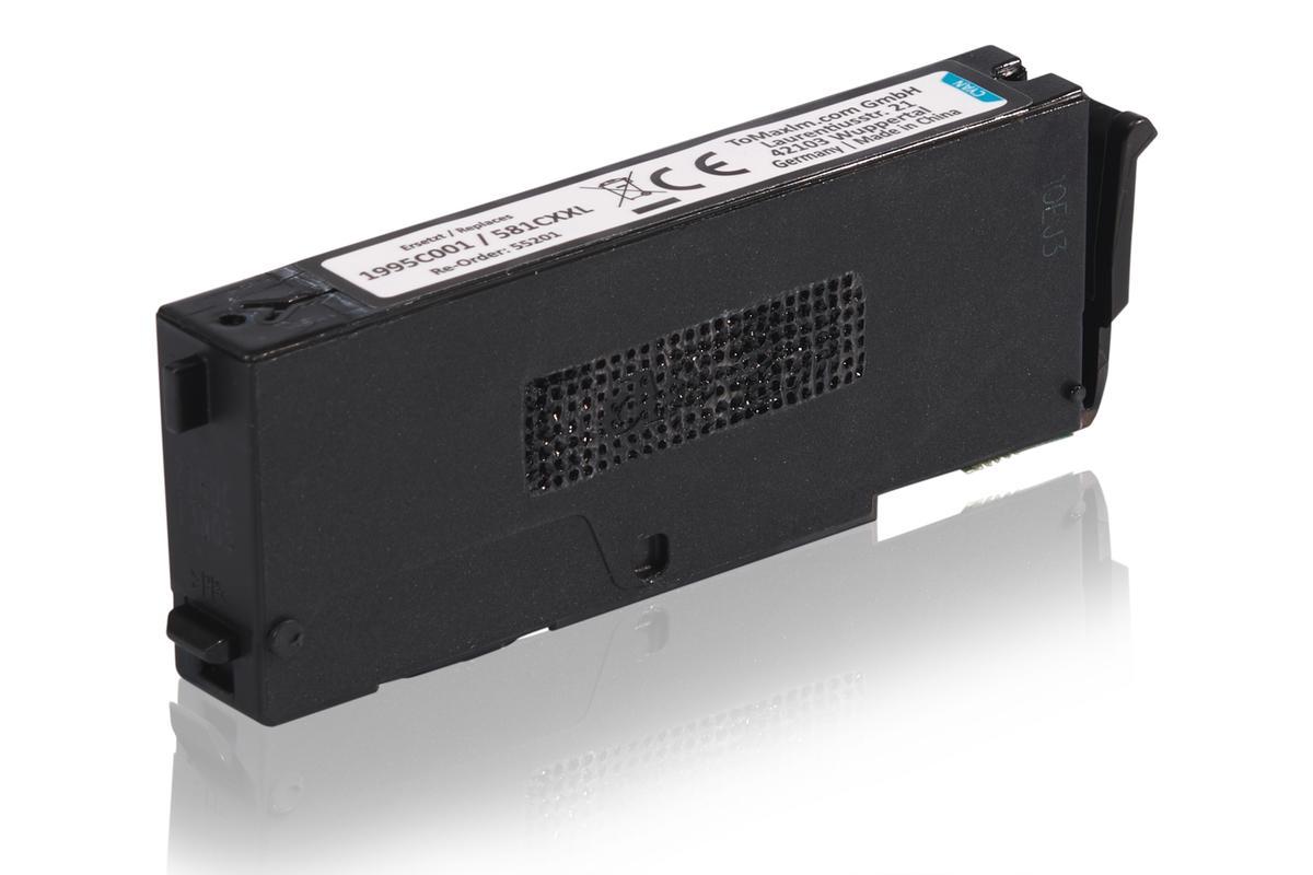 Kompatibel zu Canon 1995C001 / CLI-581CXXL Tintenpatrone, cyan
