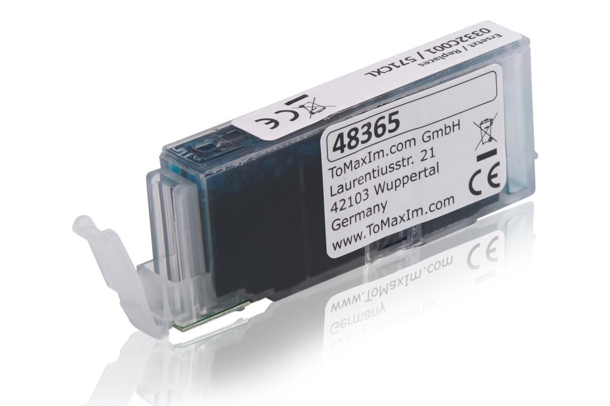 Kompatibel zu Canon 0332C001 / CLI-571CXL Tintenpatrone, cyan