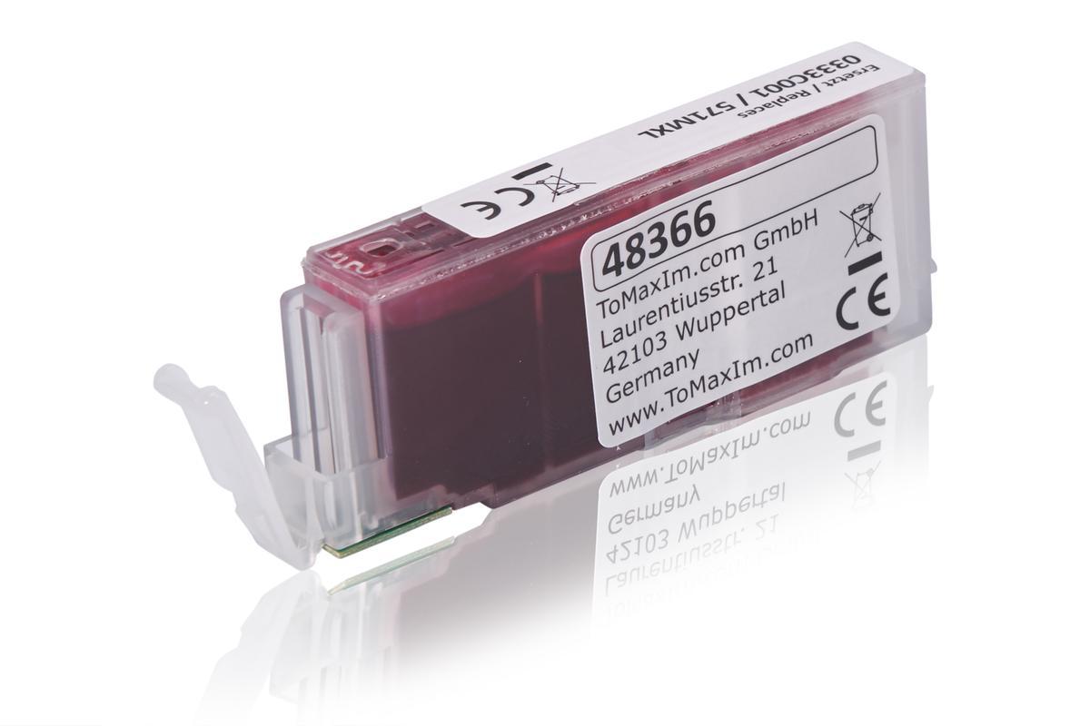 Kompatibel zu Canon 0333C001 / CLI-571MXL Tintenpatrone, magenta