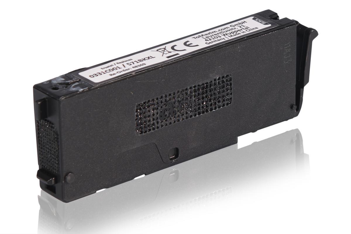 Kompatibel zu Canon 0331C001 / CLI-571BKXL Tintenpatrone, schwarz