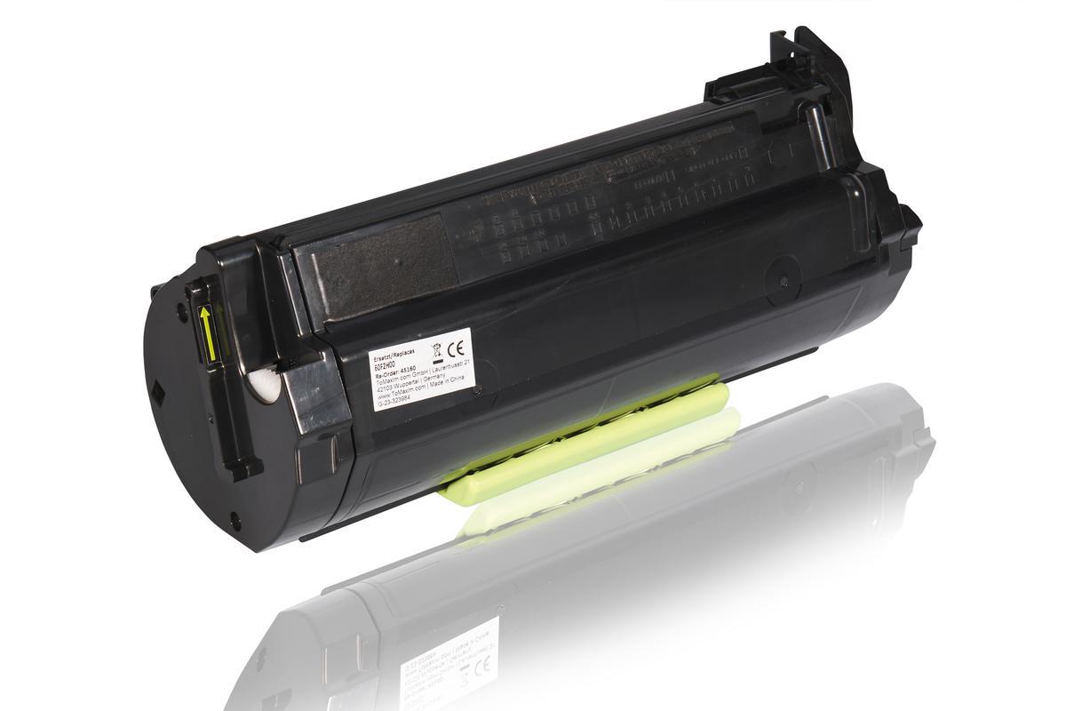 Recycling Alternative zu Lexmark 60F2000 / 602 Tonerkartusche Schwarz