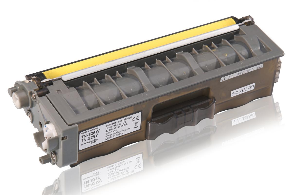 Kompatibel zu Brother TN-325Y Tonerkartusche, gelb
