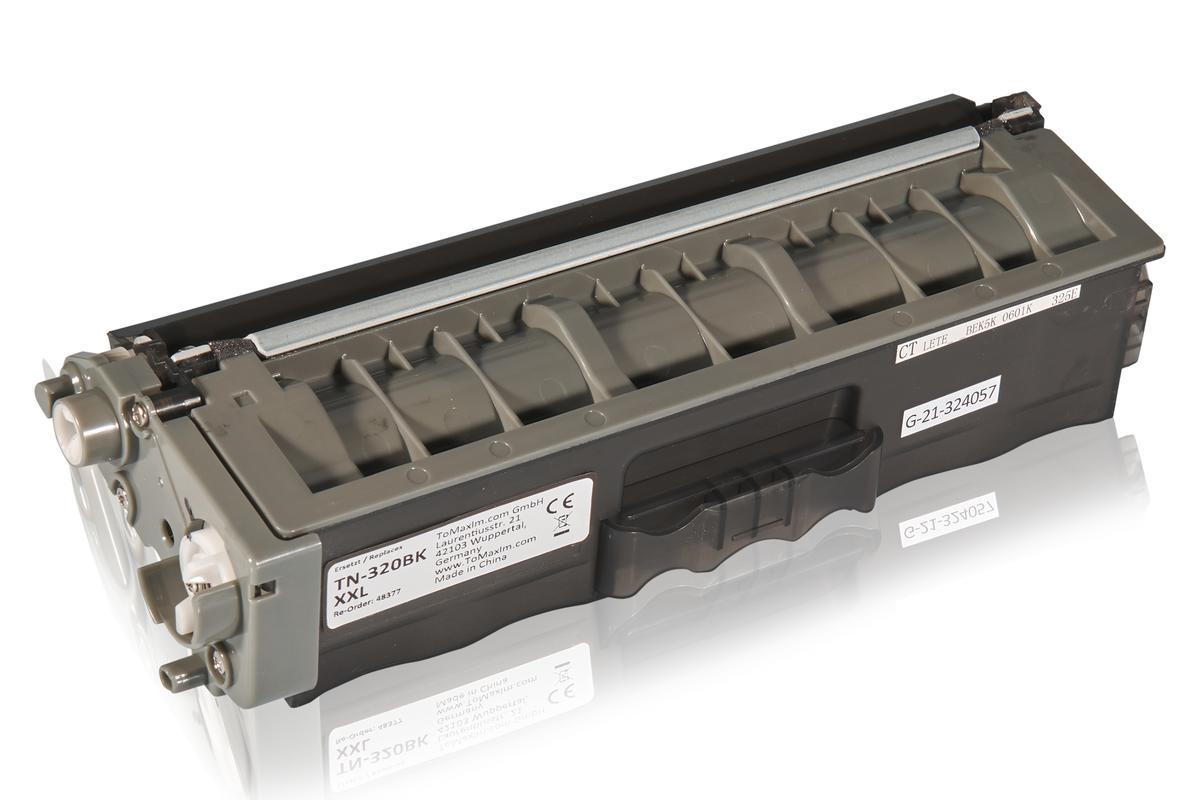 Kompatibel zu Brother TN-320BK XL Tonerkartusche, schwarz