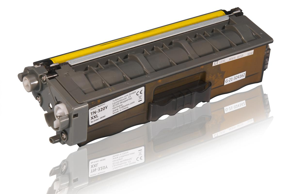 Kompatibel zu Brother TN-320Y XL Tonerkartusche, gelb