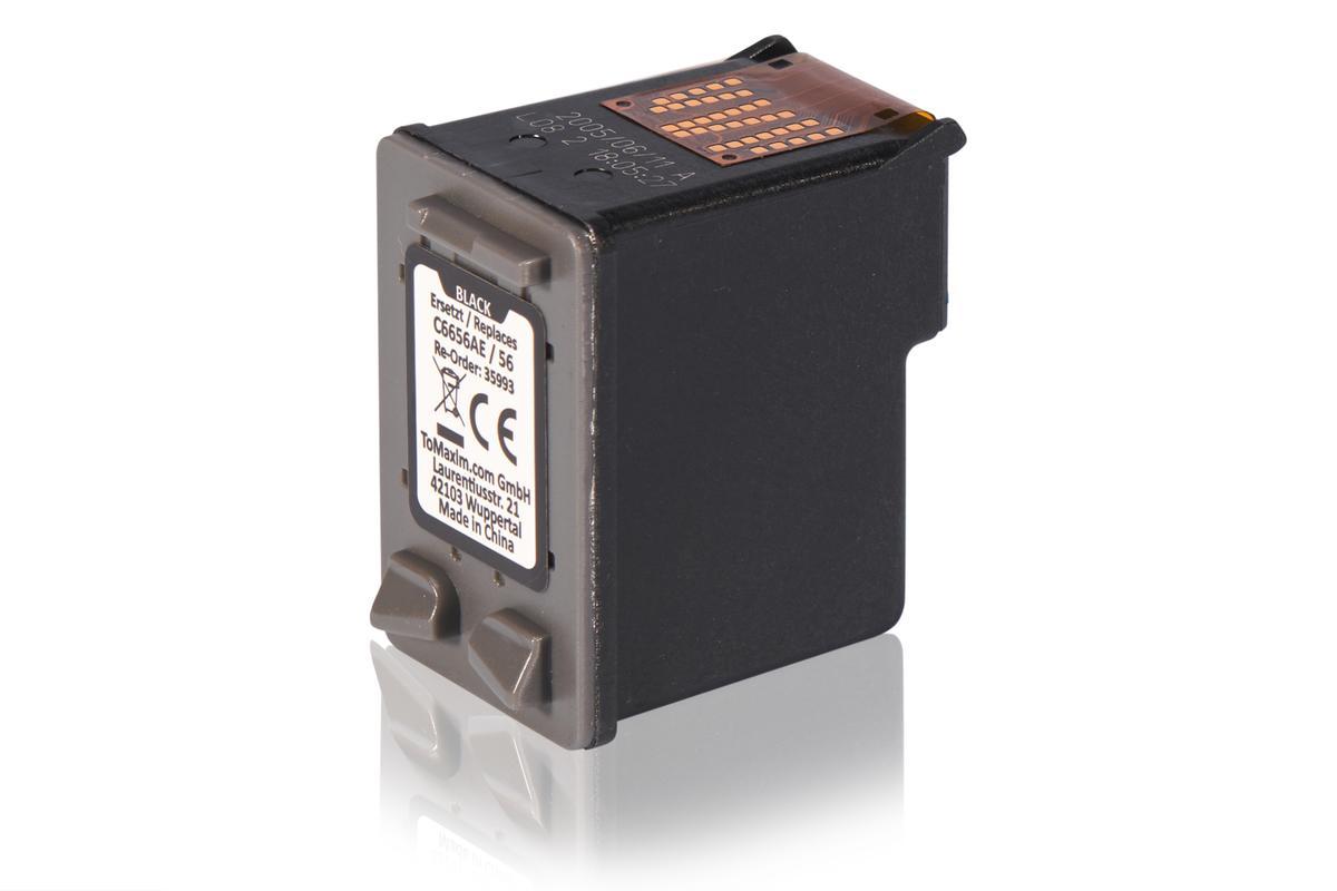 Kompatibel zu HP C6656AE / 56 Druckkopfpatrone, schwarz