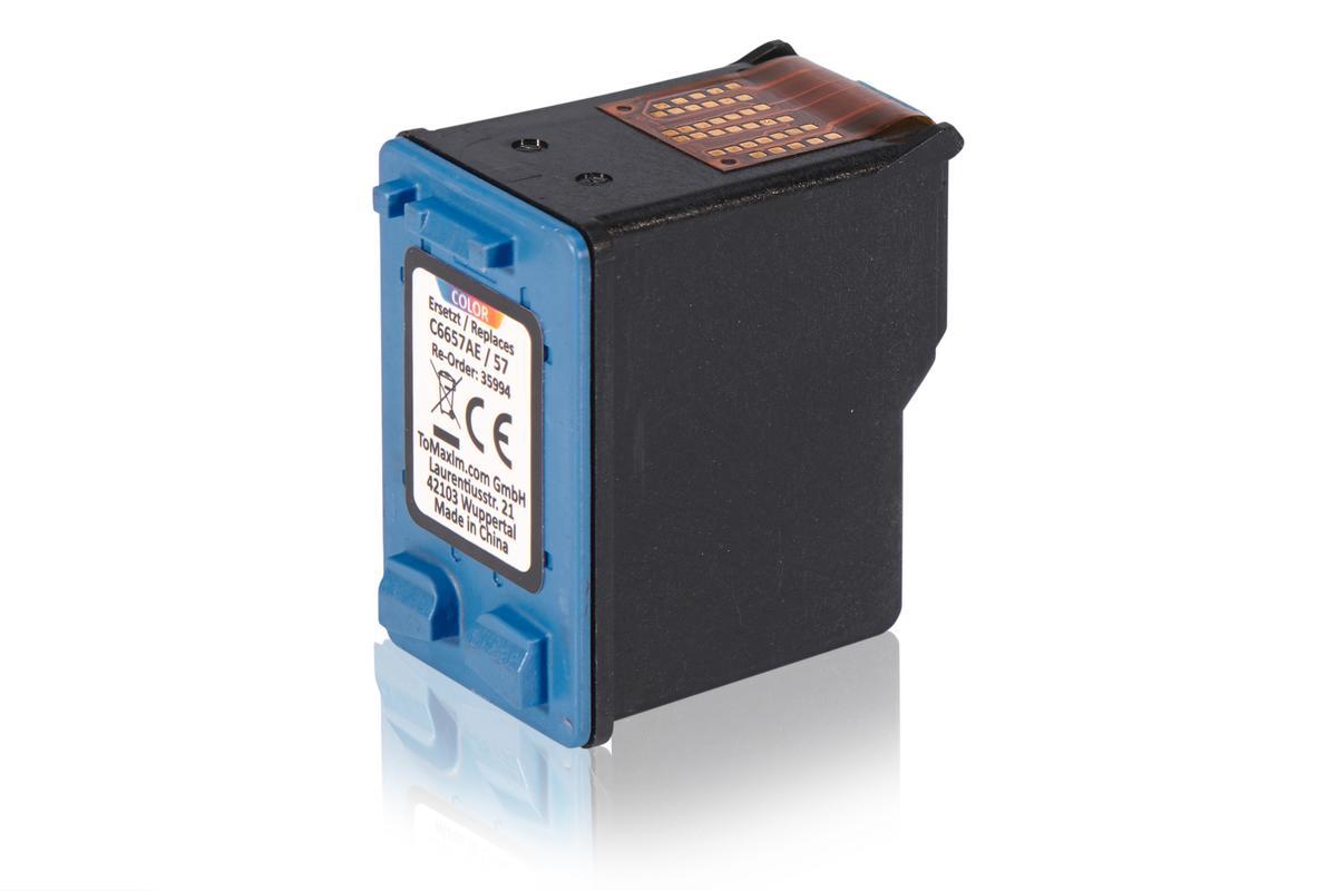 Kompatibel zu HP C6657AE / 57 Druckkopfpatrone, color