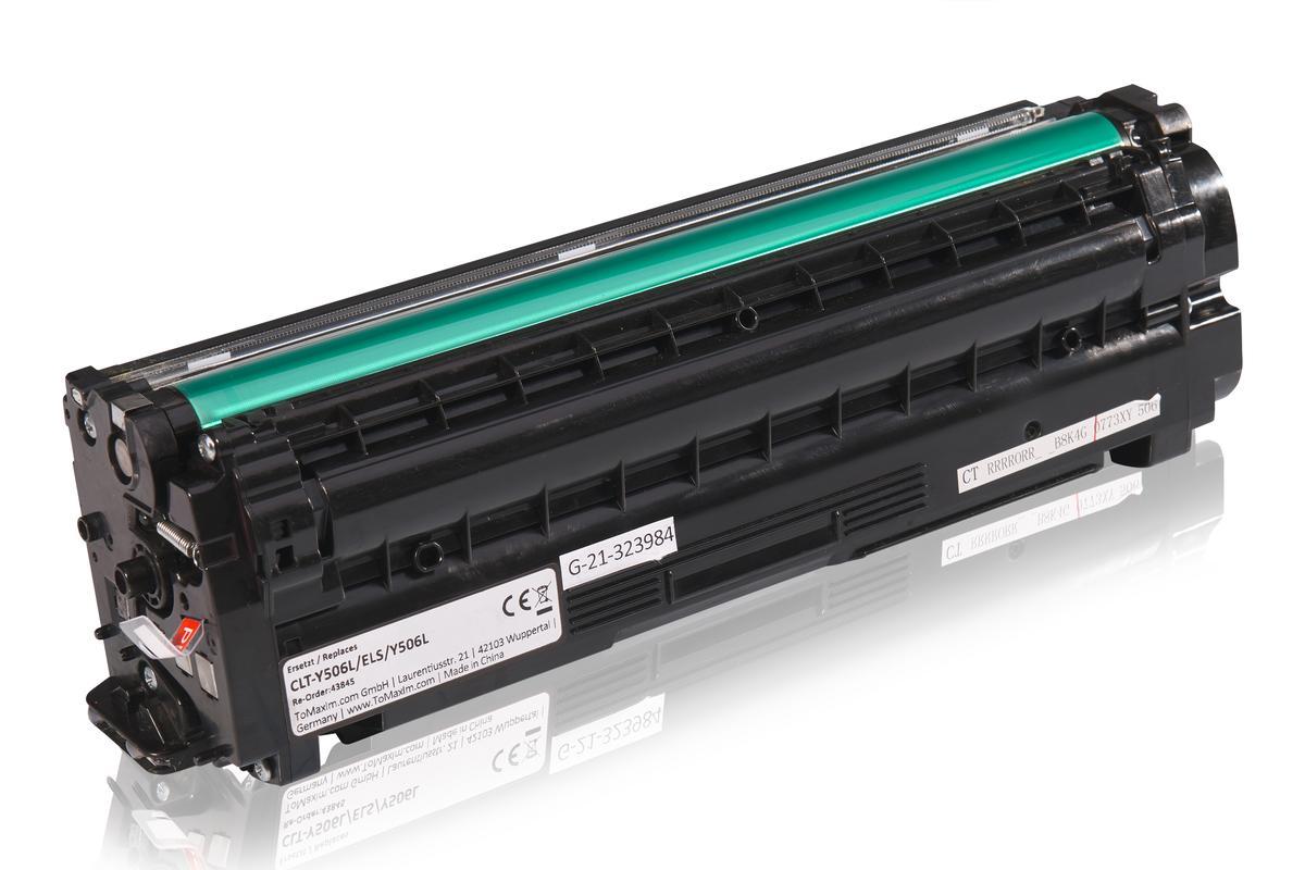 Kompatibel zu Samsung CLT-Y506L/ELS / Y506L Tonerkartusche, gelb