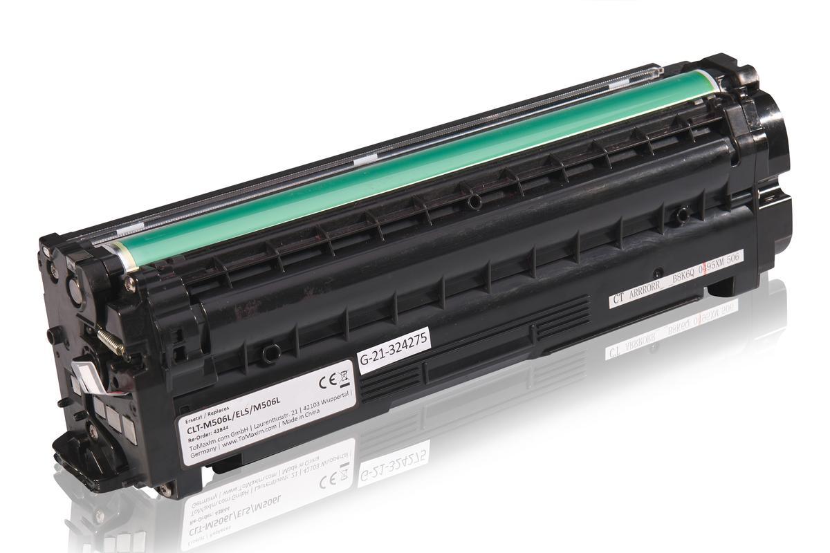 Kompatibel zu Samsung CLT-M506L/ELS / M506L Tonerkartusche, magenta