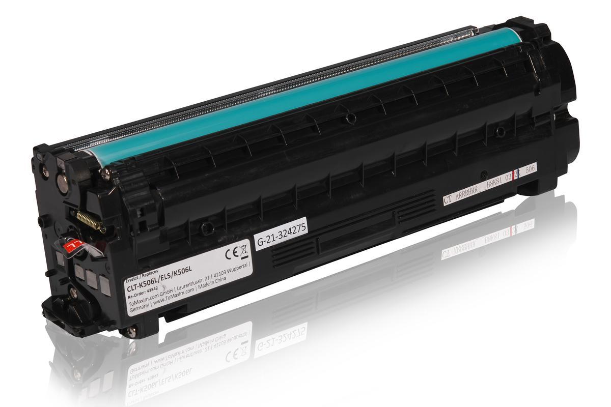 Kompatibel zu Samsung CLT-K506L/ELS / K506L Tonerkartusche, schwarz