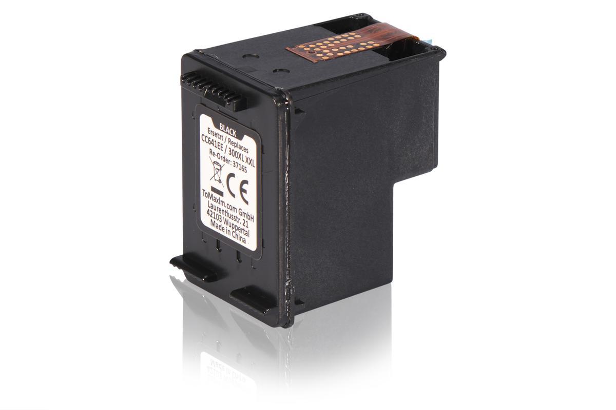 Kompatibel zu HP CC641EE / 300XL Druckkopfpatrone, schwarz