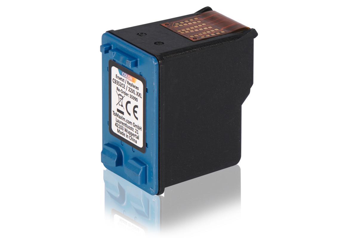 Kompatibel zu HP C9352CE / 22XL Druckkopfpatrone, color