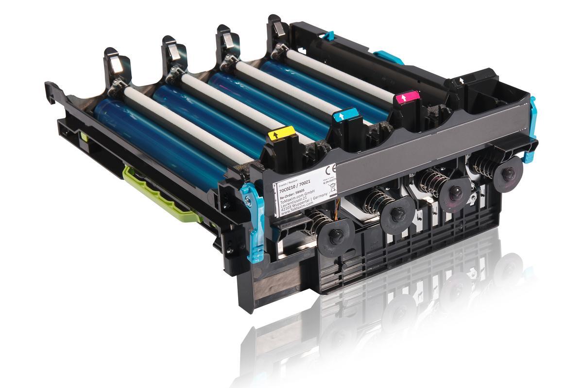 Kompatibel zu Lexmark 70C0Z10 / 700Z1 Bildtrommel, schwarz