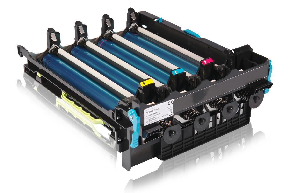 Kompatibel zu Lexmark 70C0P00 / 700P Bildtrommel, farblos