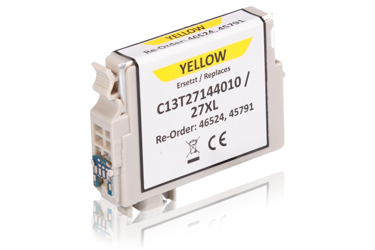 Kompatibel zu Epson C13T27144010 / 27XL Tintenpatrone, gelb