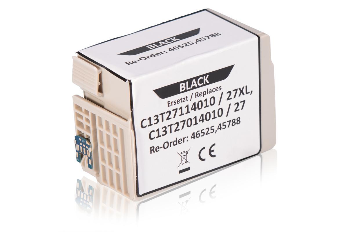 Kompatibel zu Epson C13T27114010 / 27XL Tintenpatrone, schwarz