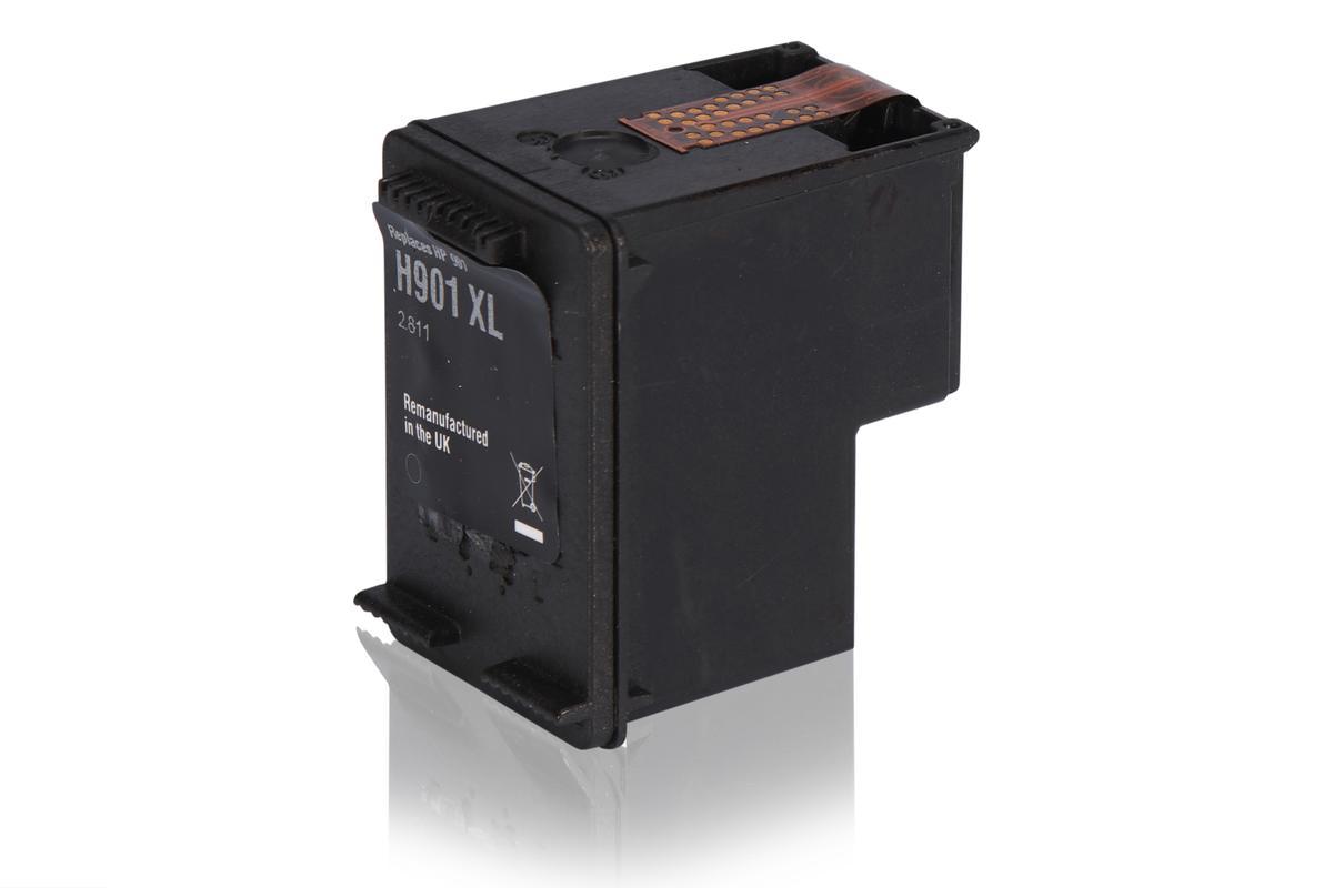 Kompatibel zu HP CC654AE / 901 XL Tintenpatrone, schwarz