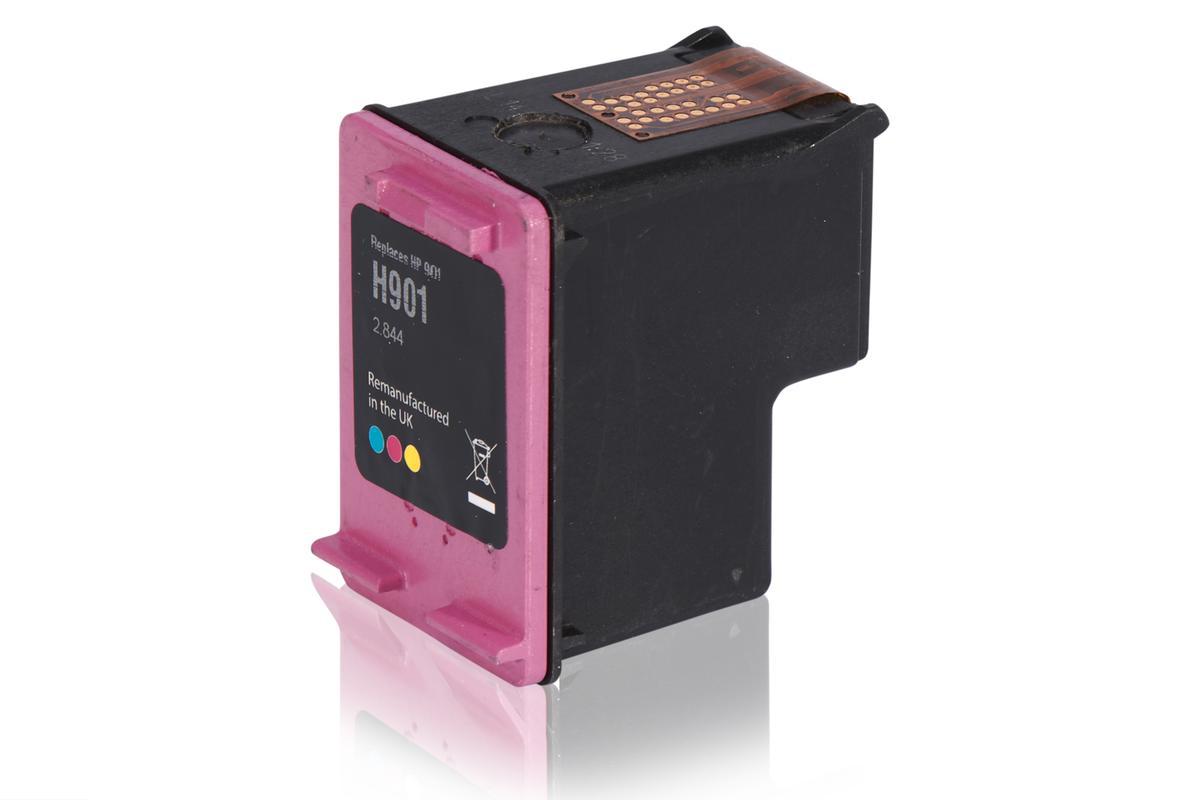 Kompatibel zu HP CC656AE / 901 XL Tintenpatrone, color