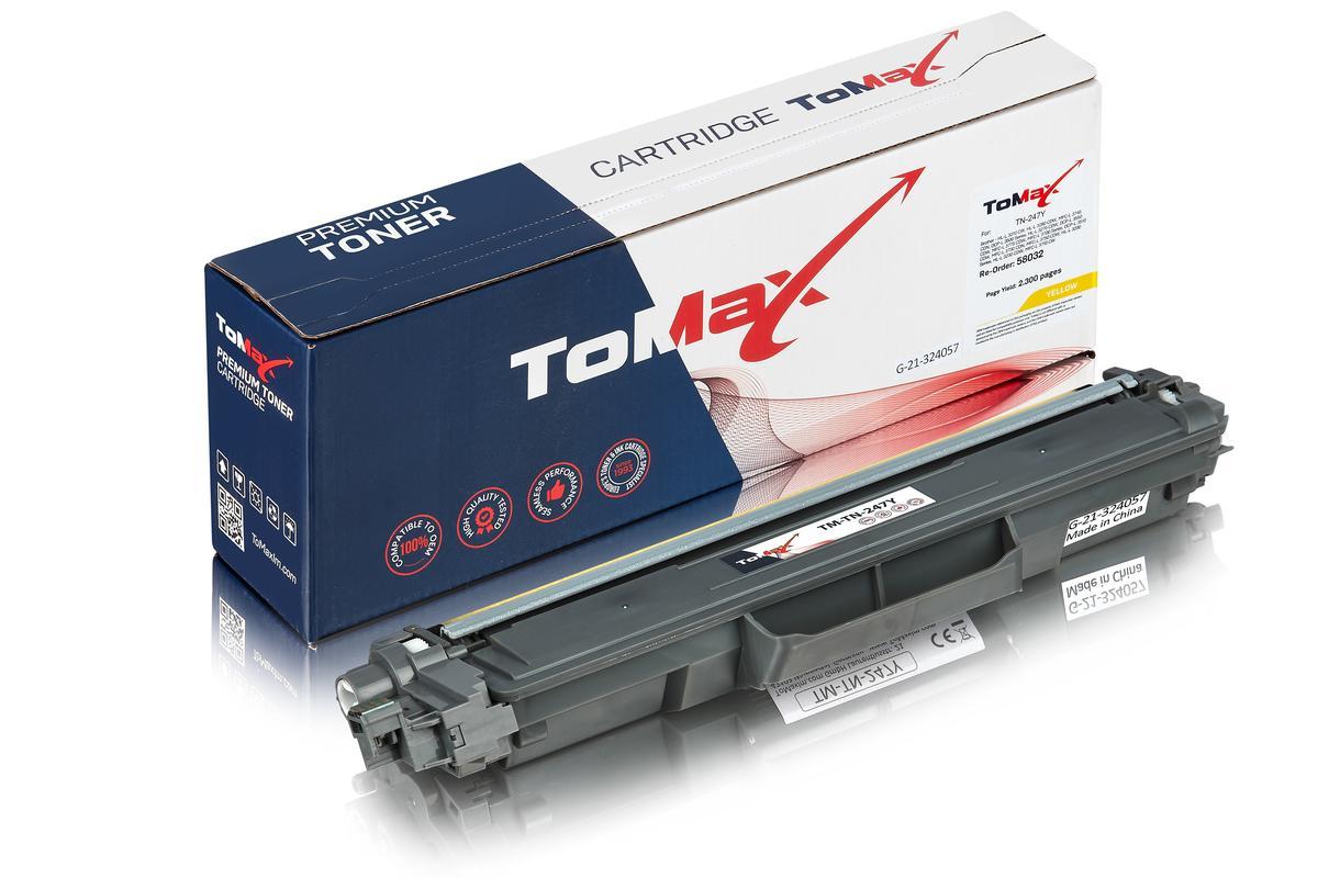 ToMax Premium alternative à Brother TN-247Y Cartouche toner, jaune
