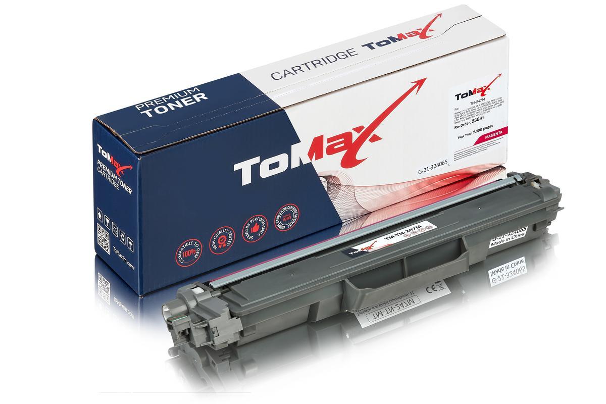 ToMax Premium alternative à Brother TN-247M Cartouche toner, magenta