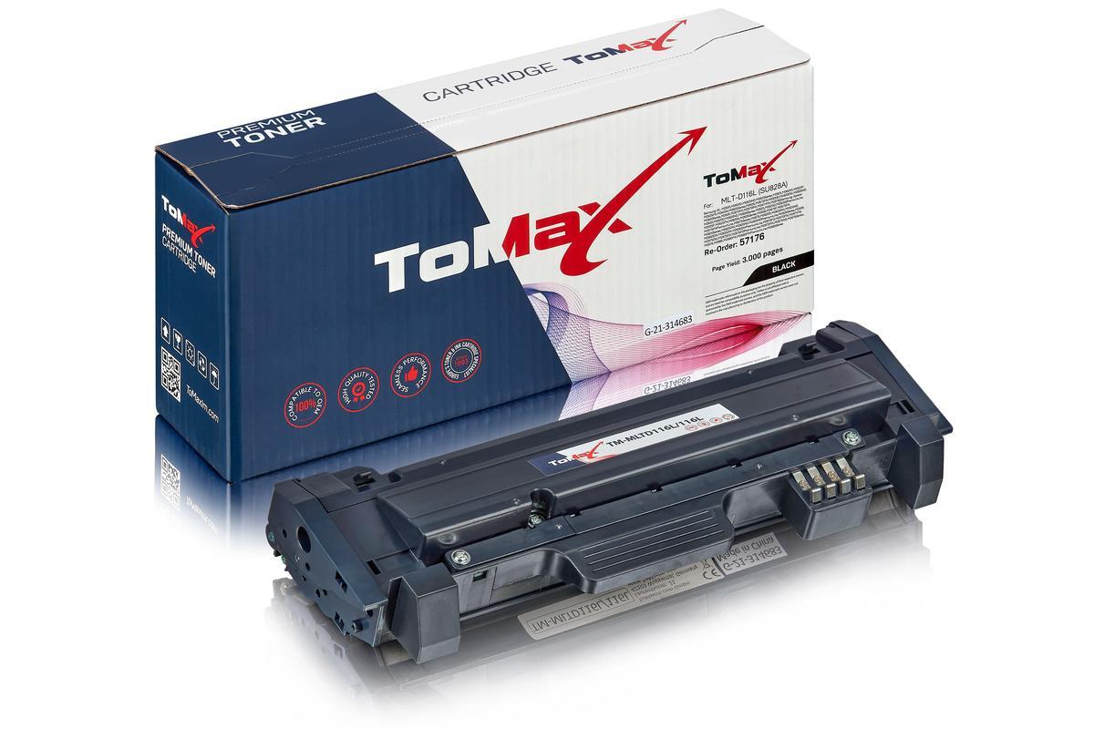 ToMax Premium alternative à Samsung MLT-D116L/ELS / 116L Cartouche toner, noir
