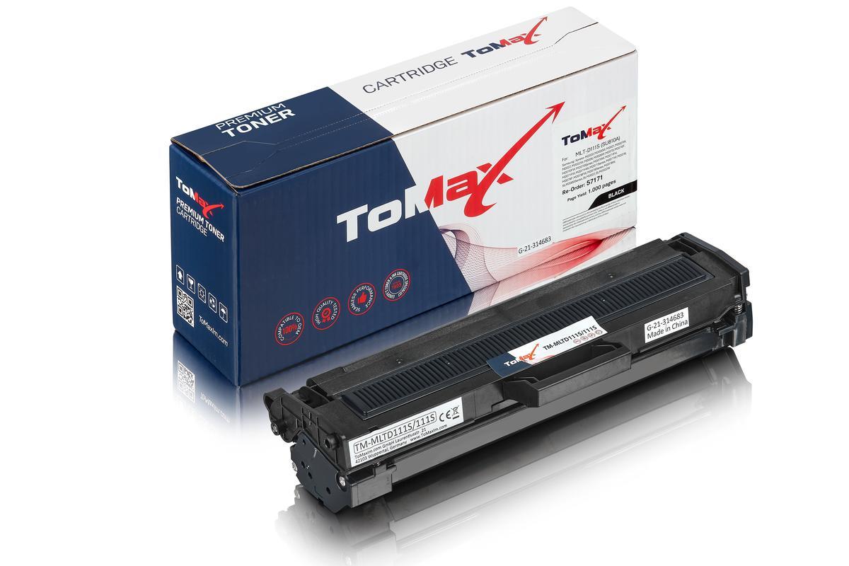 ToMax Premium alternative à Samsung MLT-D111S/ELS / 111S Cartouche toner, noir