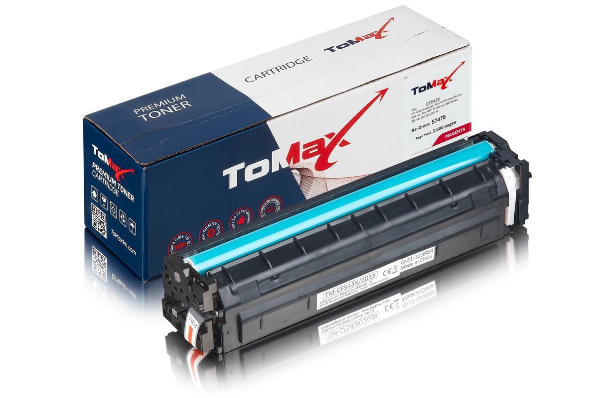 ToMax Premium ersetzt HP CF543X / 203X Toner, magenta