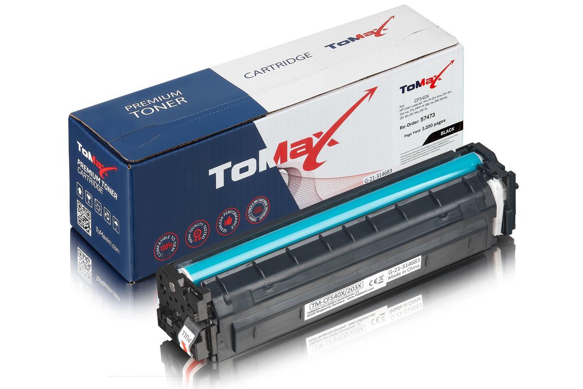 ToMax Premium ersetzt HP CF540X / 203X Toner, schwarz