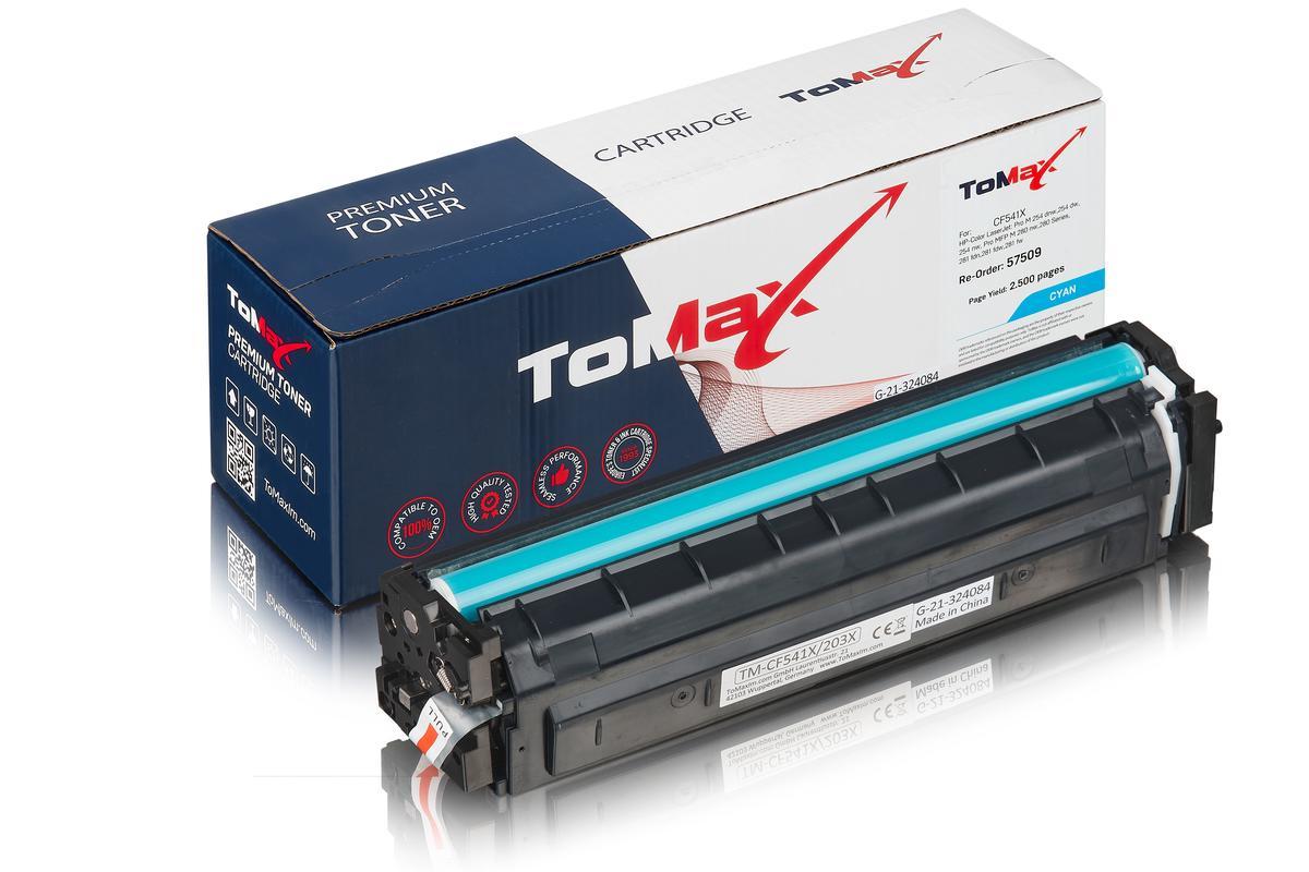 ToMax Premium ersetzt HP CF541X / 203X Toner, cyan