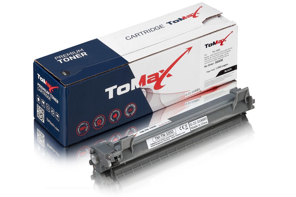 ToMax Premium ersetzt Brother TN-1050 Toner, schwarz
