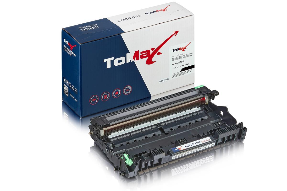 ToMax Premium ersetzt Brother DR-2100 Trommel, farblos