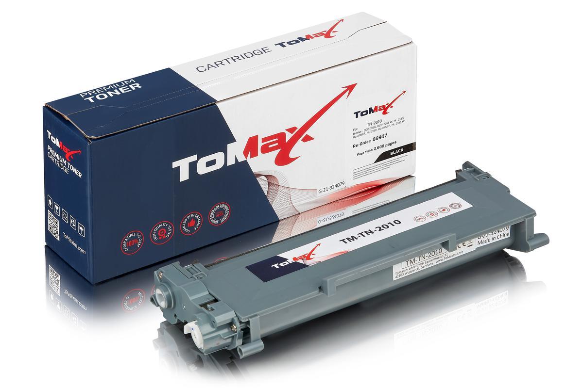 ToMax Premium ersetzt Brother TN-2010 XL Toner, schwarz