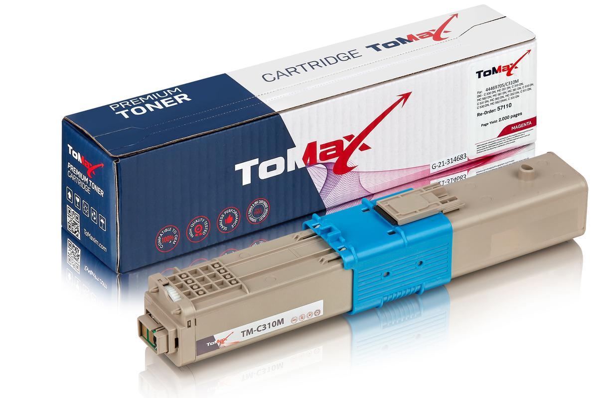 Kompatibel zu OKI 44469705 / C310 Tonerkartusche, magenta