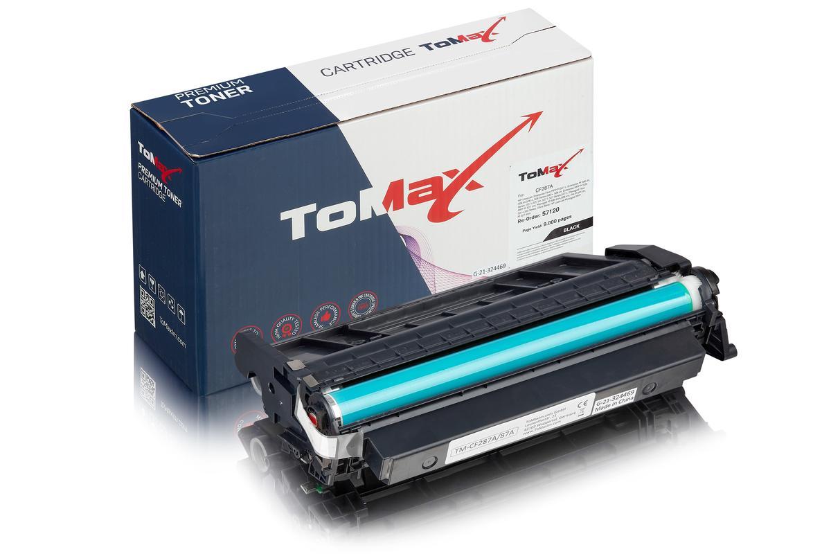 ToMax Premium ersetzt HP CF287A / 87A Toner, schwarz