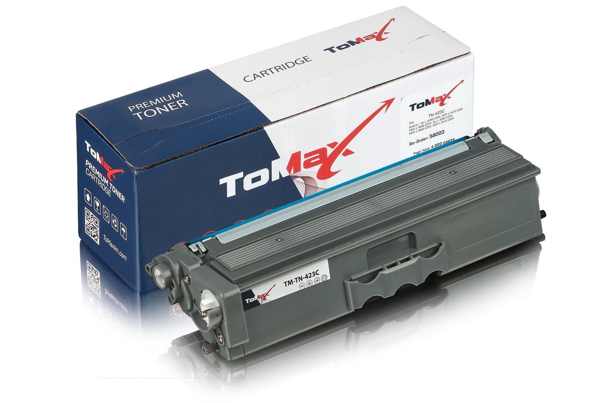 ToMax Premium ersetzt Brother TN-423C Toner, cyan