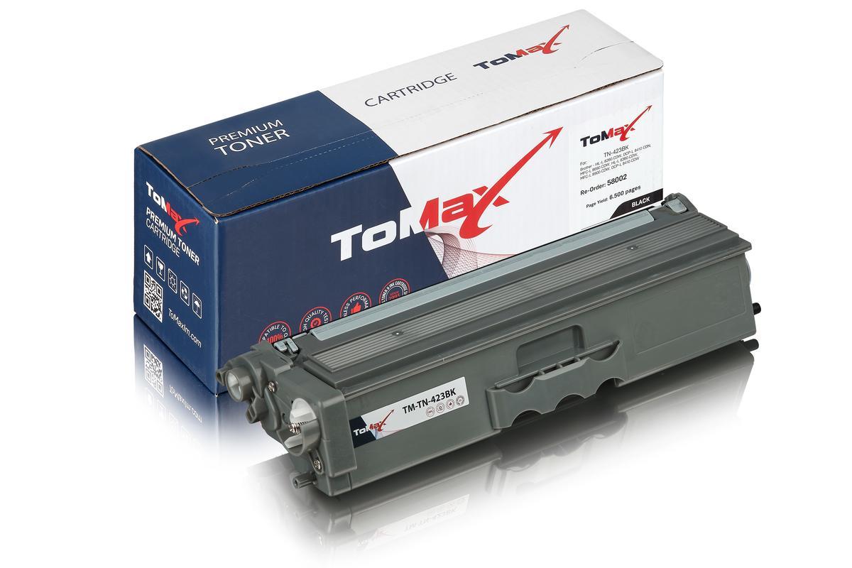 ToMax Premium ersetzt Brother TN-423BK Toner, schwarz