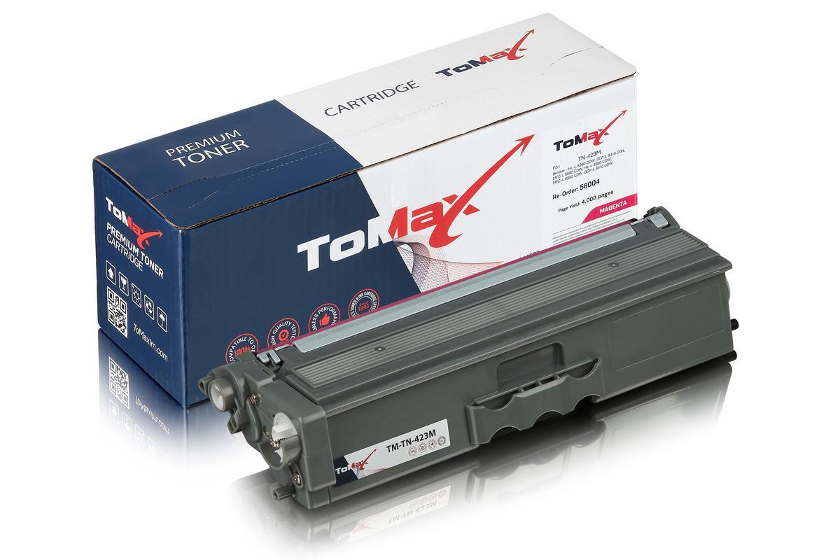 ToMax Premium ersetzt Brother TN-423M Toner, magenta