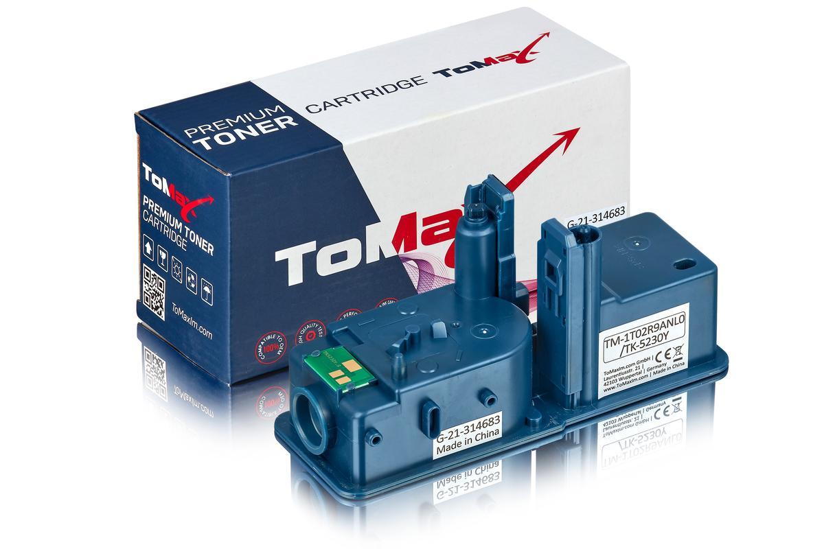 ToMax Premium ersetzt Kyocera 1T02R9ANL0 / TK-5230Y Toner, gelb