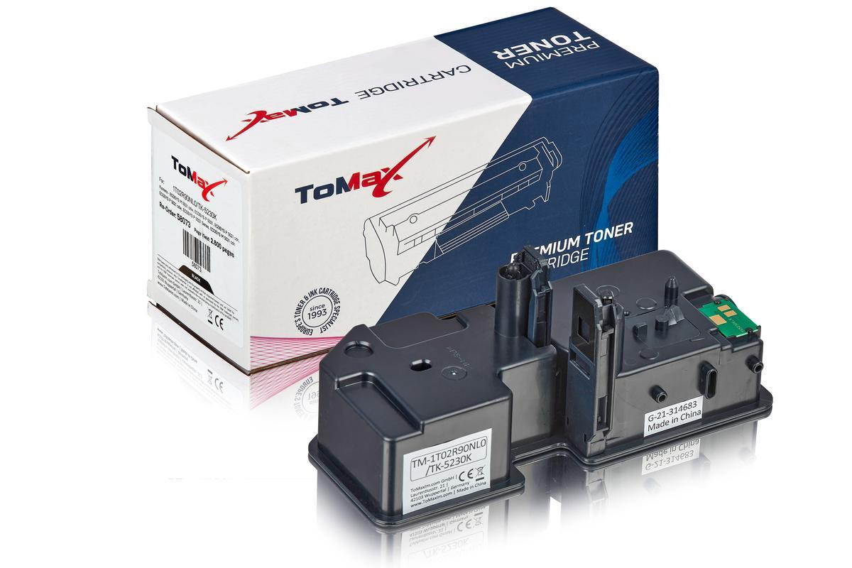 ToMax Premium ersetzt Kyocera 1T02R90NL0 / TK-5230K Toner, schwarz