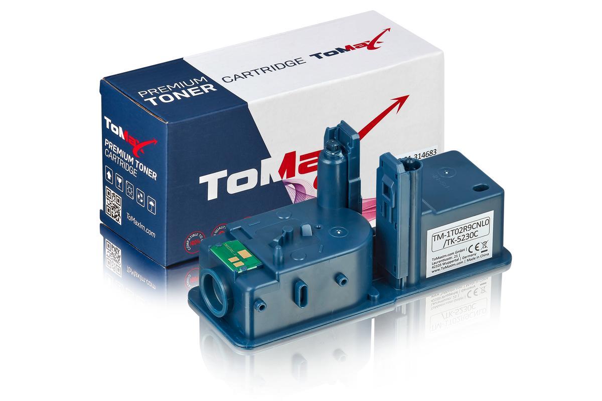 ToMax Premium ersetzt Kyocera 1T02R9CNL0 / TK-5230C Toner, cyan