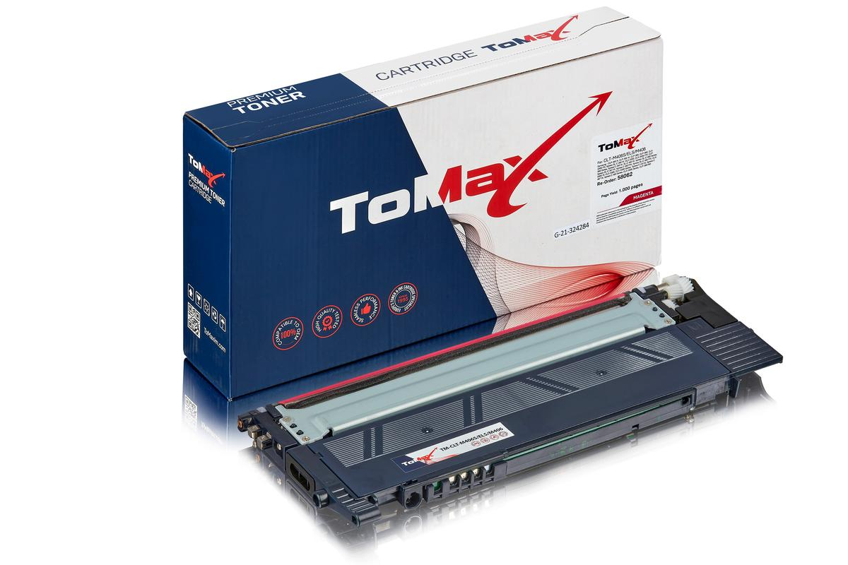 ToMax Premium ersetzt Samsung CLT-M406S/ELS / M406 Toner, magenta