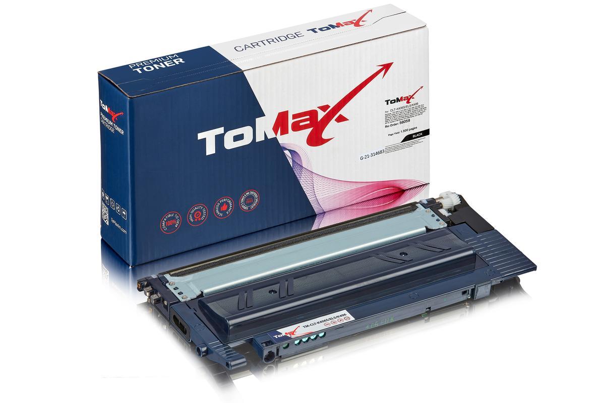 ToMax Premium ersetzt Samsung CLT-K406S/ELS / K406 Toner, schwarz