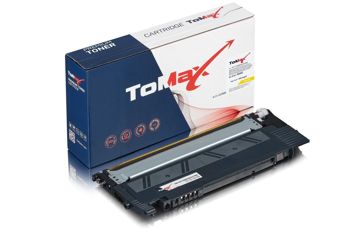 ToMax Premium ersetzt Samsung CLT-Y406S/ELS / Y406 Toner, gelb