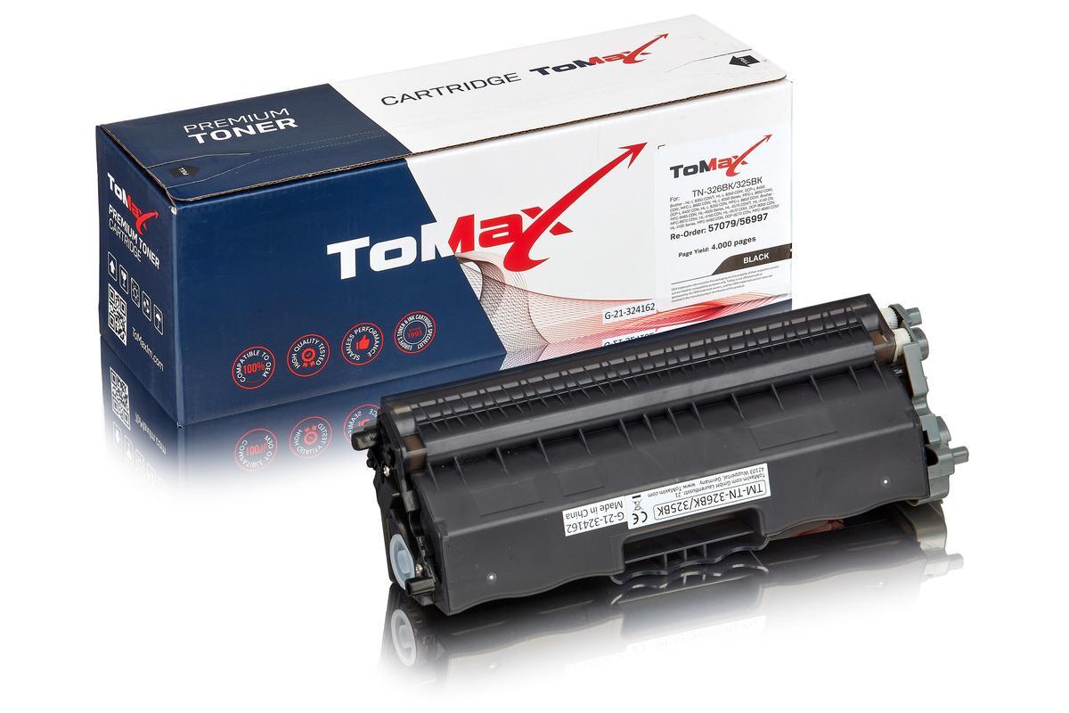 ToMax Premium ersetzt Brother TN-325BK Toner, schwarz
