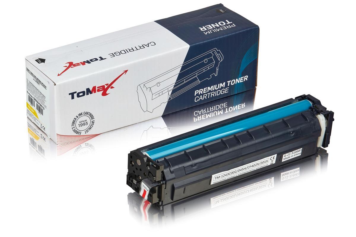 ToMax Premium ersetzt Canon 1243C002 / 045H Toner, gelb