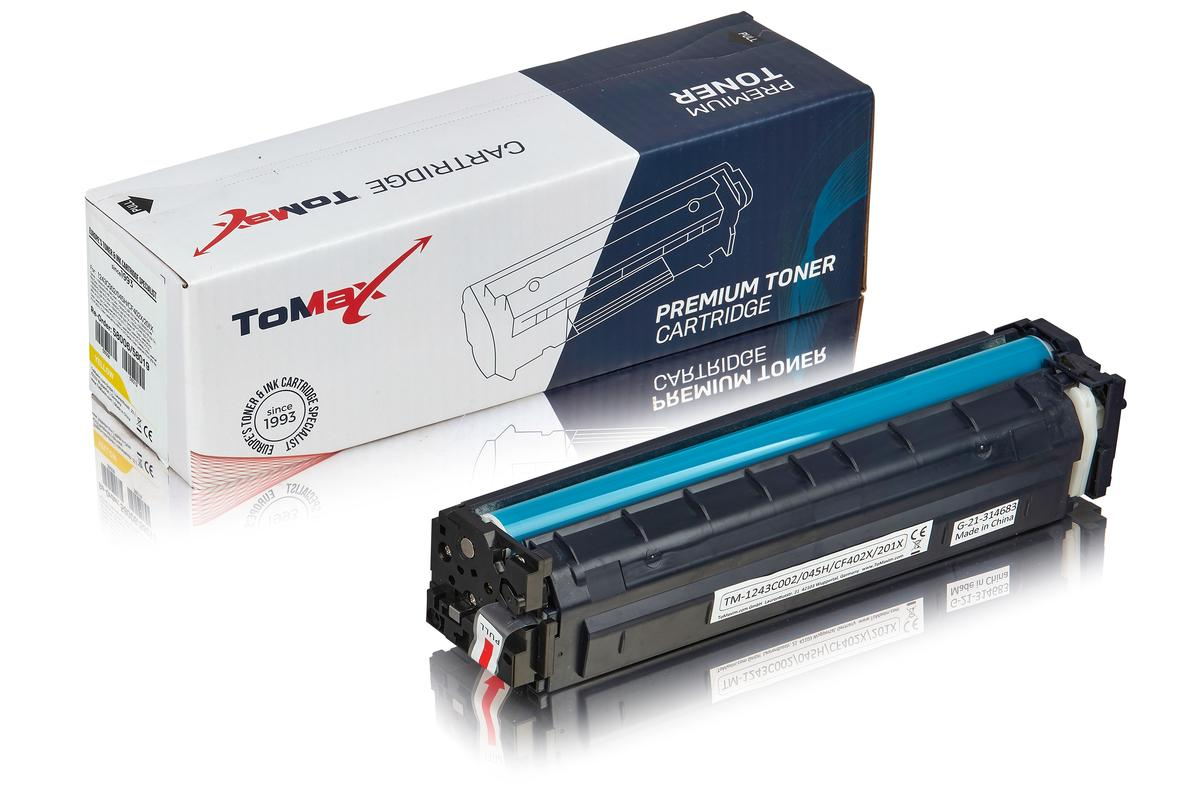 ToMax Premium ersetzt HP CF402X / 201X Toner, gelb