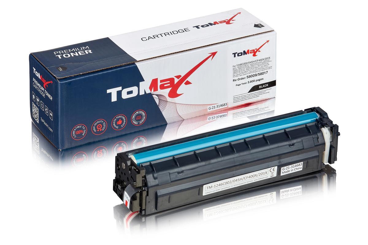 ToMax Premium ersetzt Canon 1246C002 / 045H Toner, schwarz