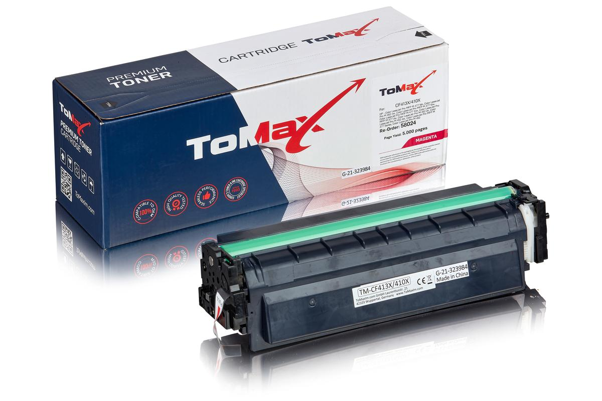 ToMax Premium ersetzt HP CF413X / 410X Toner, magenta