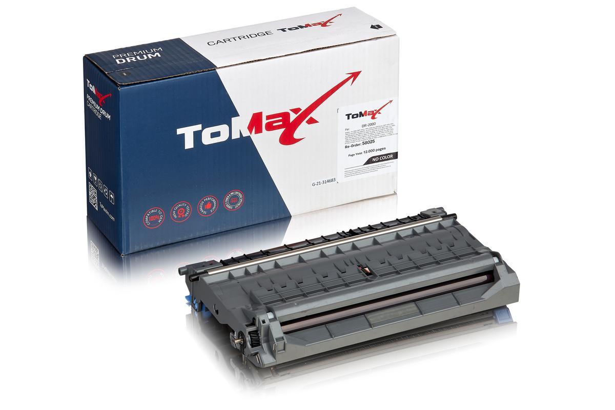 ToMax Premium ersetzt Brother DR-2000 Trommel, farblos
