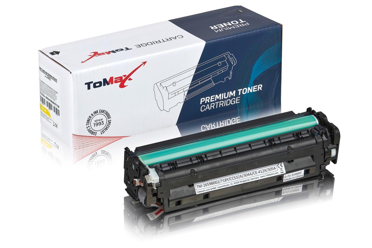 ToMax Premium ersetzt HP CC532A / 304A Toner, gelb