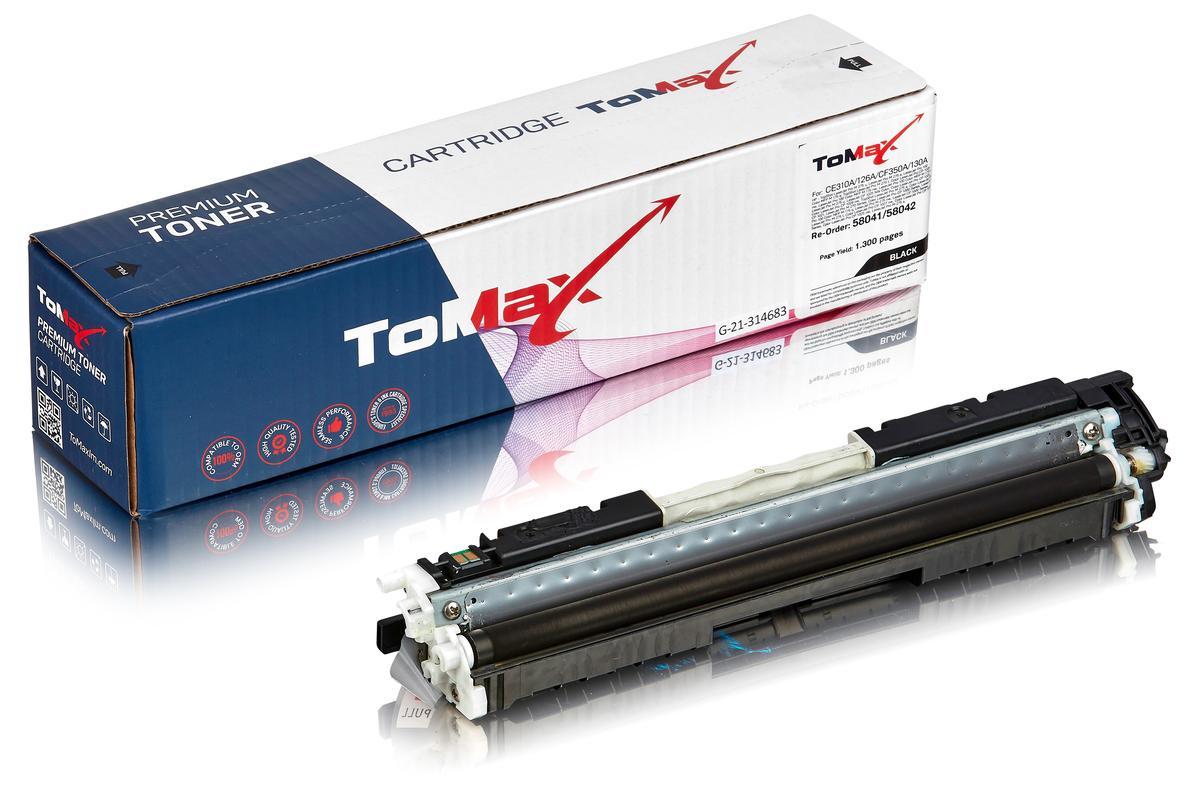 ToMax Premium ersetzt HP CE310A / 126A Toner, schwarz